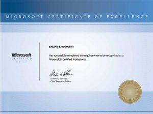Microsoft rendszerüzemeltető